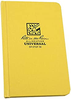 product image for Pocket Notebook, 80 Sheets, Yellow Cover