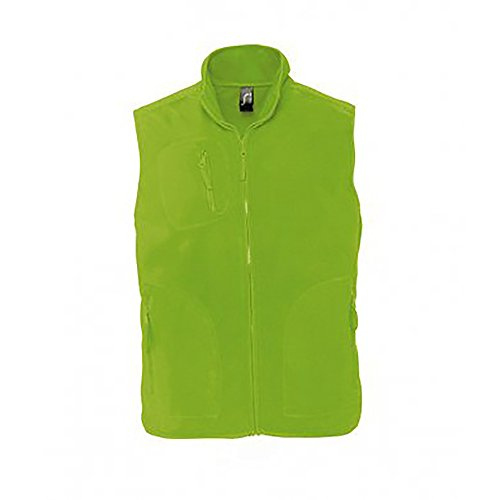 "SOL'S Norway Unisex Anti-Pill Fleece Bodywarmer/Gilet Vest (XL (43-44"" Chest)) (Lime)"