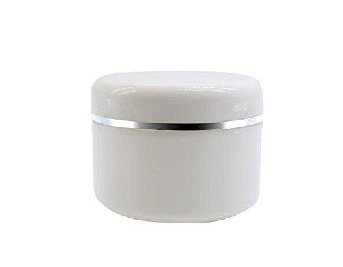 White 8 Ounce Jar - 8