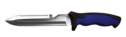 SE KHK2287-1 12-Inch Dive Knife with Hard Sheath, Blue