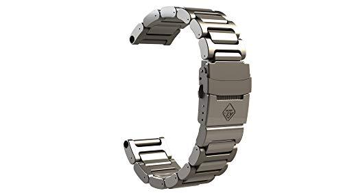 (HAZARD 4 Titanium Bracelet for Heavy Water Diver(TM) - Silver)