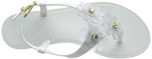 Blanco Lemon Jelly 02 Para Betony white Chanclas Mujer rqXCpqw