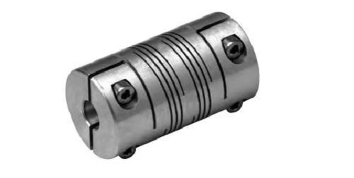 1//2 Bore A Diameter 88 lb-in Nominal Torque 1.5 OD Inch Lovejoy ADB7 68514476855 Double Beam Coupling No Keyway 2.626 Overall Coupling Length 10000 Max RPM Aluminum 3//4 Bore B Diameter