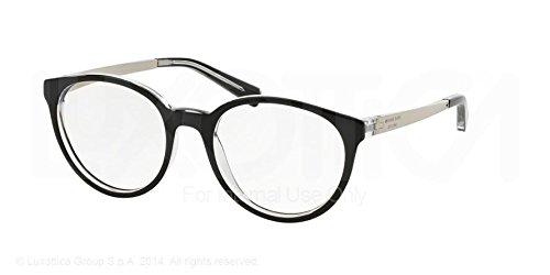 Michael Kors Mayfair Eyeglasses MK4018 3033 Black/Crystal 50 18 - Glasses Mayfair