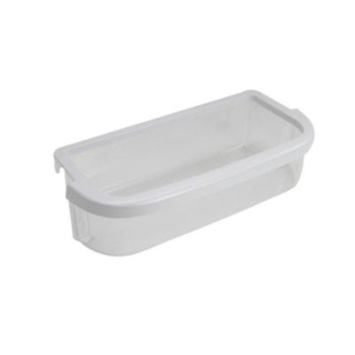 Whirlpool W10371194 Refrigerator Door Bin, Clear and white
