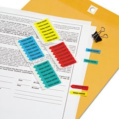 Sign Here Mini Arrows (RTG72020 - Removable/Reusable Mini SIGN HERE Arrow)