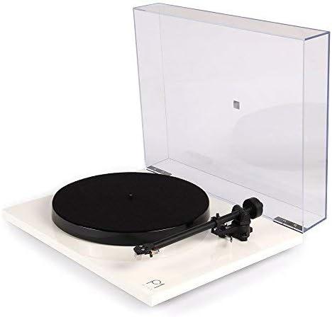 Noir Tourne-disque phono monobloc Rega Planar 1 Plus