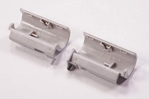 FMS Compatible with L23914-001 Replacement for Hp Hinge Cover Natural Silver 15-CS0051WM 15-CS0072WM