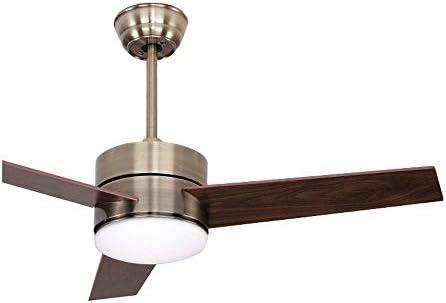 Ventilador de techo moderno de 39 pulgadas con control remoto 3 ...