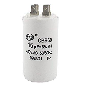 Boyd Gresham Running Capacitor 4 Pins CBB60 250V/450V 16uF Pump Motor Four Pins Start Capacitor For Electric Machine