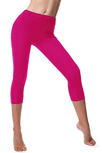 Womens Cotton Cropped Casual Leggings product image