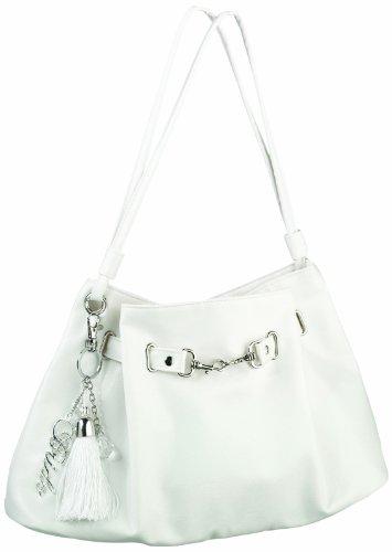 Lillian Rose Large White Purse Bag Bride Accessories