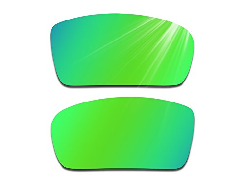 Glintbay Harden Coated Replacement Lenses for Oakley Gascan Sunglasses - Polarized Green - Shop Sunglasses The