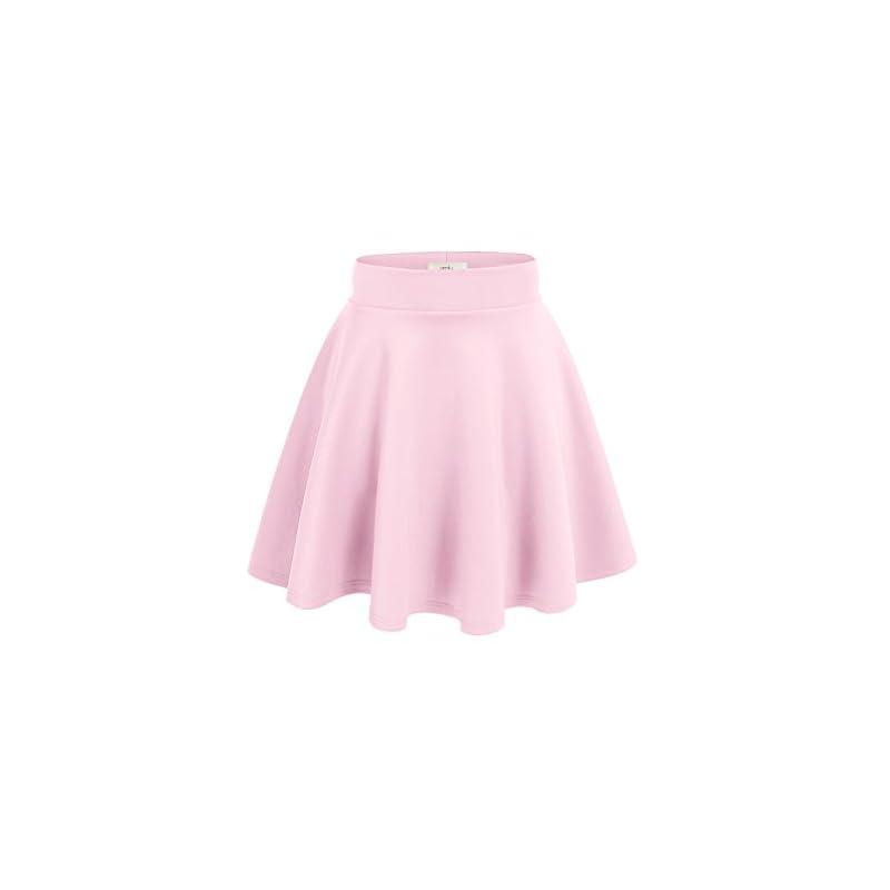649b1507f99d12 Women's Midi Skater Skirt Flared Stretch Skirt for Women Reg & Plus Size – Made  in USA