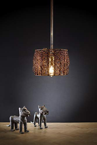 Traditional Copper Pendant Light in US - 7