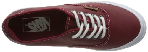 Vans U Authentic Slim (Moc) Rio Red/t - Zapatillas Unisex adulto Rojo (Rot (Red))