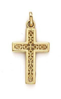 Pendentif croix-JewelryWeb 14 carats