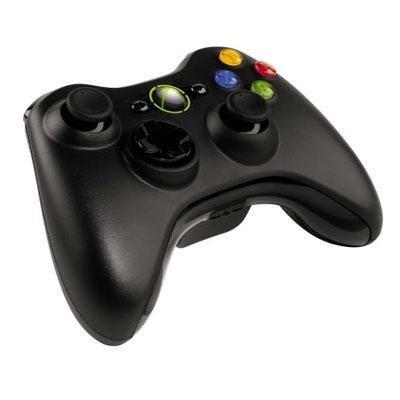 Xbox 360 Wireless Controller Black (Certified Refurbished)