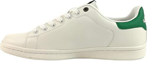 Basse Scarpe Sneaker Australian Off Sportive Au436 Uomo green White Art q6IaRgw