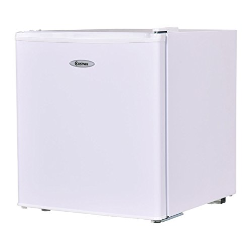 Costway Compact Refrigerator and Freezer With Single Door Co
