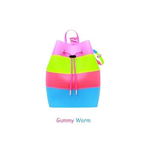 American Jewel Yummy Gummy Bucket Silicone Backpack