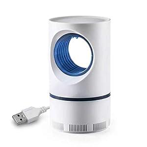 Ulikey Luce Mosquito Killer, USB Alimentato Mosquito Killer Luce, UV LED Zanzariera Lampada Antizanzare per Cortile… 1 spesavip