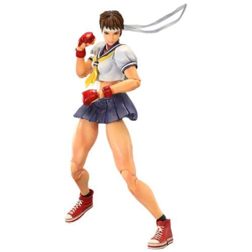 Square Enix Sakura Super Street Fighter IV Play Arts Kai Action Figure