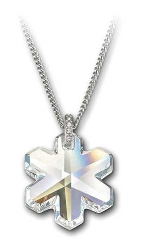 e46251c678 Image Unavailable. Image not available for. Color: Swarovski Crystal Medley Snowflake  Pendant ...