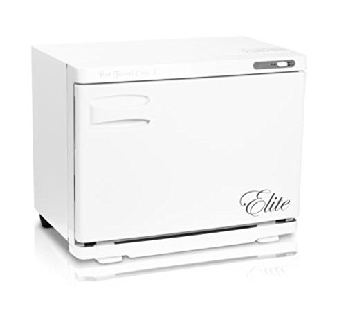 Elite Towel Warmer - Fold Down White Towel Cabinet (HC-XW) by Elite