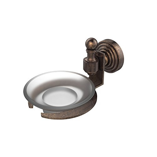 Allied Brass RW-32-VB Retro-Wave Collection Wall Mounted Soap Dish, Venetian Bronze