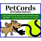 PetCords Dog and Cat Cord Protector- Protects Your Pets From Chewing Through Insulated Cables up to 10ft, Unscented, Odorless