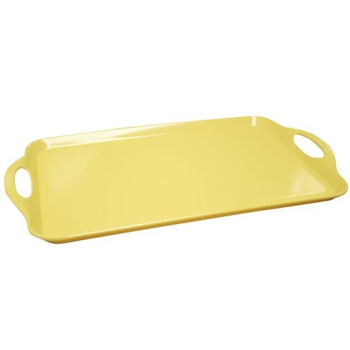 Calypso Basics by Reston Lloyd Melamine Rectangular Tray, (Personalized Melamine Platter)