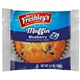 Mrs. Freshleys Blueberry Muffin, 4.5 Ounce - 48 per case.