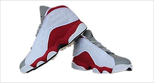 52152111a2930a N1KE Mens Air Jordan 13 Grey Toe Retro AJ13 Basketball shoes Size 10   Amazon.com  Books