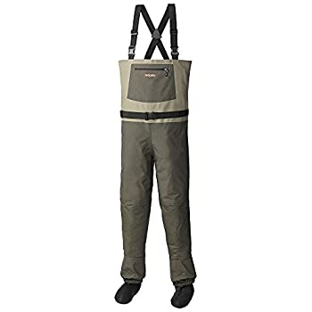 Image of Aquaz Rogue Chest Wader Lightweight Breathable Stockingfoot Fishing Wader