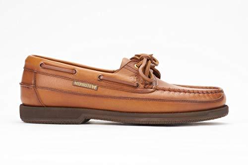 Mephisto Walking Shoes - Mephisto Men's Hurrikan Moccasin Rust Leather 44.5 (US Men's 10.5)