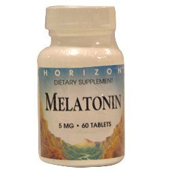 Amazon.com : Melatonin 5 Mg Nighttime Sleep Aid Tablets, By Horizon Nutraceuticals - 60 Ea : Medicinal Sleep Aids : Beauty