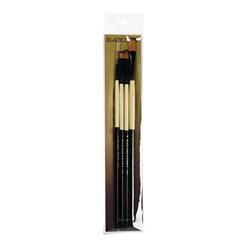 Black Gold Synthetic Sable Bg Set ()
