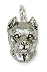Pit Bull Charm Jewelry Pitbull
