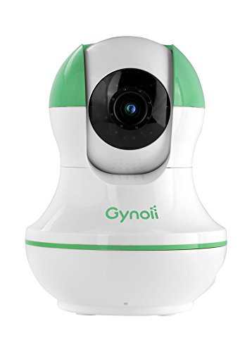 Gynoii GPW-1025-20 Wi-Fi Wireless Smart PT Video Baby Monitor with HD Infrared Night Vision, Two Way Audio & Time-Lapse for iPhone, iPad, Android Phones & Tablets