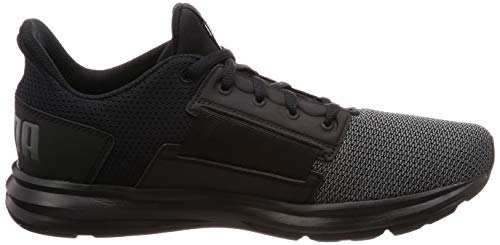 Black Baskets Enzo iron Puma aged Gate 01 190461 Silver wzRTxI