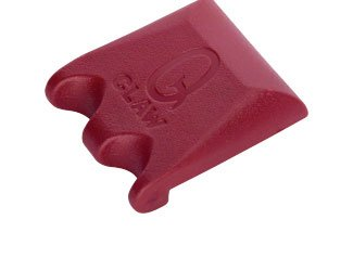 (Q Claw 2 Pool Cue Holders Color: Wine)