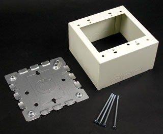 [해외]Wiremold Legrand V5744-2 2 강 스틸 Extra Deep Switch & amp; /Wiremold Legrand V5744-2 2 Gang Steel Extra Deep Switch &am