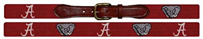 Smathers & Branson Collegiate Needlepoint Belt (B-Collegiate-P)