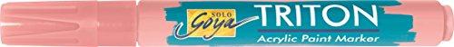 Kreul 17832-Solo Goya Triton Chisel Tip Acrylic Paint Marker 1-4mm (Portraitrosa ()