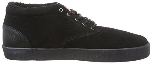 Element ELEMENT PRESTON - zapatillas deportivas altas de cuero hombre Negro - Noir (3828)