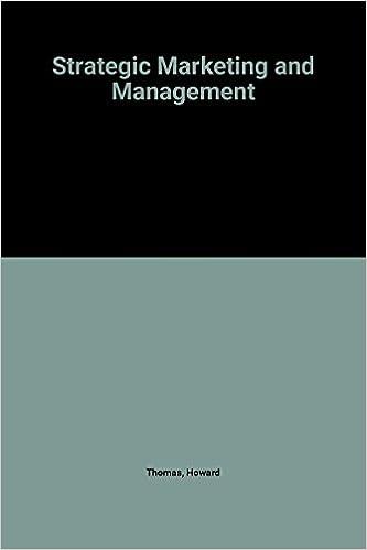 Book Strategic Marketing and Management