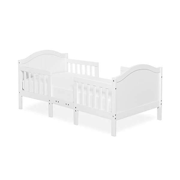 Dream On Me Portland 3 In 1 Convertible Toddler Bed, White