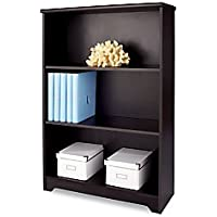 Realspace(R) Magellan Collection 3-Shelf Bookcase, Espresso