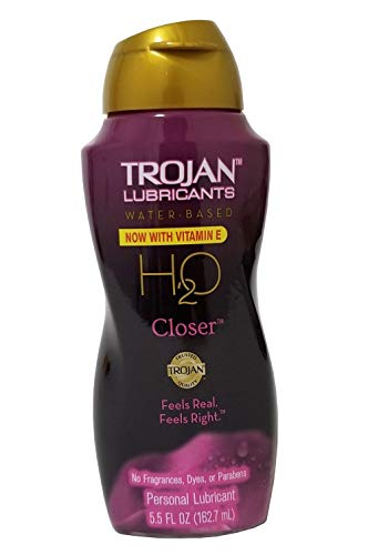 Trojan Lubricants H2o Closer Water Based Personal Lube Feels Real Feels Right